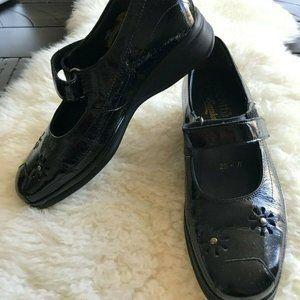 Semler Romina Women's Leather Mary Jane Black